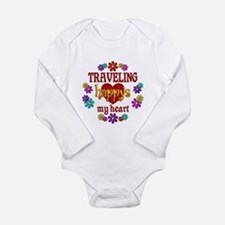Traveling Happy Onesie Romper Suit