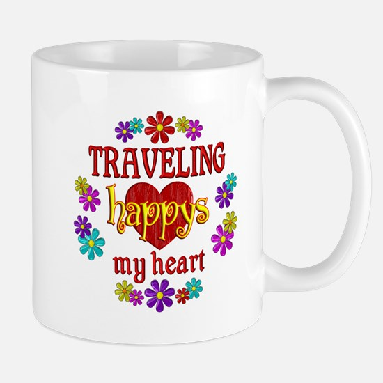 Traveling Happy Mug