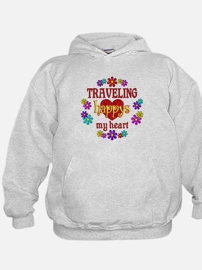 Traveling Happy Hoodie