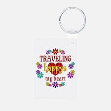 Traveling Happy Keychains