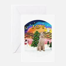 XMusic2-Spinone (w) Greeting Card