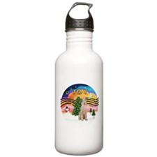 XMusic2-Spinone (w) Water Bottle