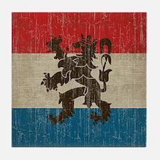 Vintage Netherlands Tile Coaster
