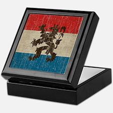 Vintage Netherlands Keepsake Box