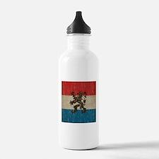 Vintage Netherlands Sports Water Bottle