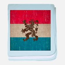 Vintage Netherlands baby blanket