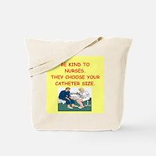 nurse joke Tote Bag