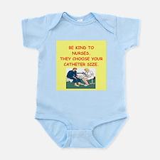 nurse joke Infant Bodysuit