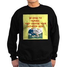 nurse joke Sweatshirt