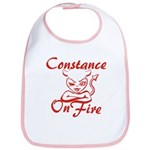 Constance On Fire Bib