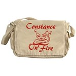 Constance On Fire Messenger Bag
