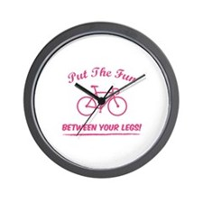Put the fun between your legs! Wall Clock