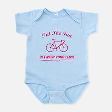 Put the fun between your legs! Infant Bodysuit
