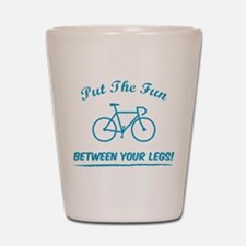 Put the fun between your legs! Shot Glass