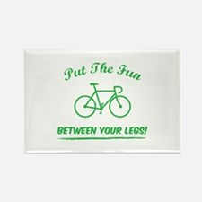 Put the fun between your legs! Rectangle Magnet