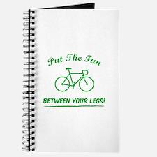 Put the fun between your legs! Journal