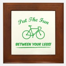 Put the fun between your legs! Framed Tile
