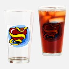 Heart Drinking Glass