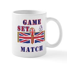 great britain tennis game set match Mug