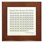 OCD Attack Framed Tile