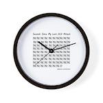 OCD Attack Wall Clock