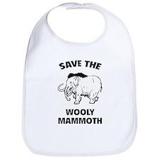 Save the wooly mammoth Bib