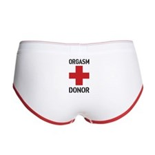 Orgasm donor Women's Boy Brief