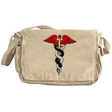 Caduceus, or Staff of Hermes Messenger Bag
