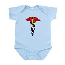 Caduceus, or Staff of Hermes Infant Bodysuit