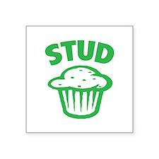 "Stud Square Sticker 3"" x 3"""