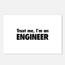Trust me, I'm an engineer Postcards (Package of 8)