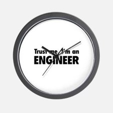 Trust me, I'm an engineer Wall Clock