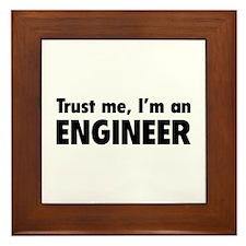 Trust me, I'm an engineer Framed Tile