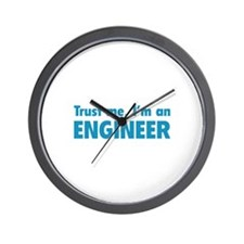 Trust me, I'm an engineer Wall Clock