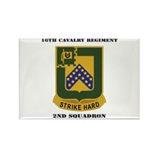 DUI - 2nd Squadron - 16th Cavalry Regiment with Te