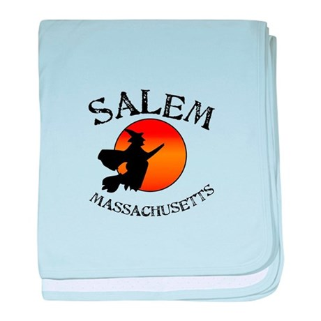 Salem Massachusetts Witch baby blanket