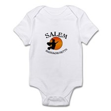 Salem Massachusetts Witch Infant Bodysuit