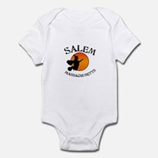 Salem Massachusetts Witch Onesie