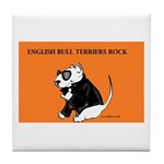 lubly bully original designs Tile Coaster
