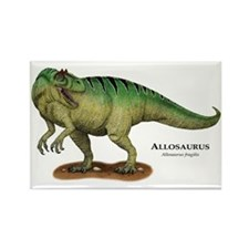 Allosaurus Rectangle Magnet