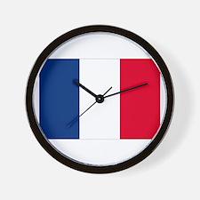 France Wall Clock