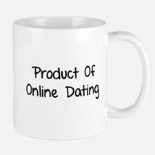 Product of online dating Mug