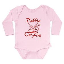 Debbie On Fire Long Sleeve Infant Bodysuit