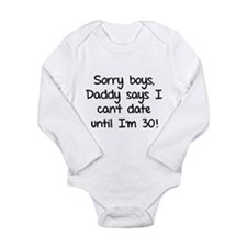 Product of online dating Long Sleeve Infant Bodysu