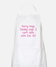 Sorry boys, daddy says I can't date Apron