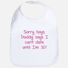 Sorry boys, daddy says I can't date Bib
