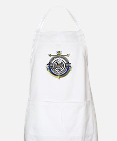 USN Seabees Gold Anchor CE Apron