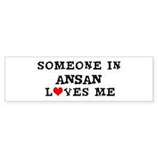 Someone in Ansan Bumper Bumper Sticker