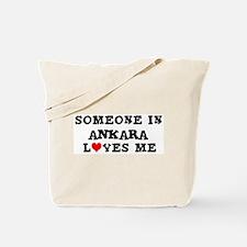 Someone in Ankara Tote Bag