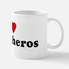 I Love Superheros Mug